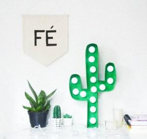 Tutorial de la lampe cactus à fabriquer soi même