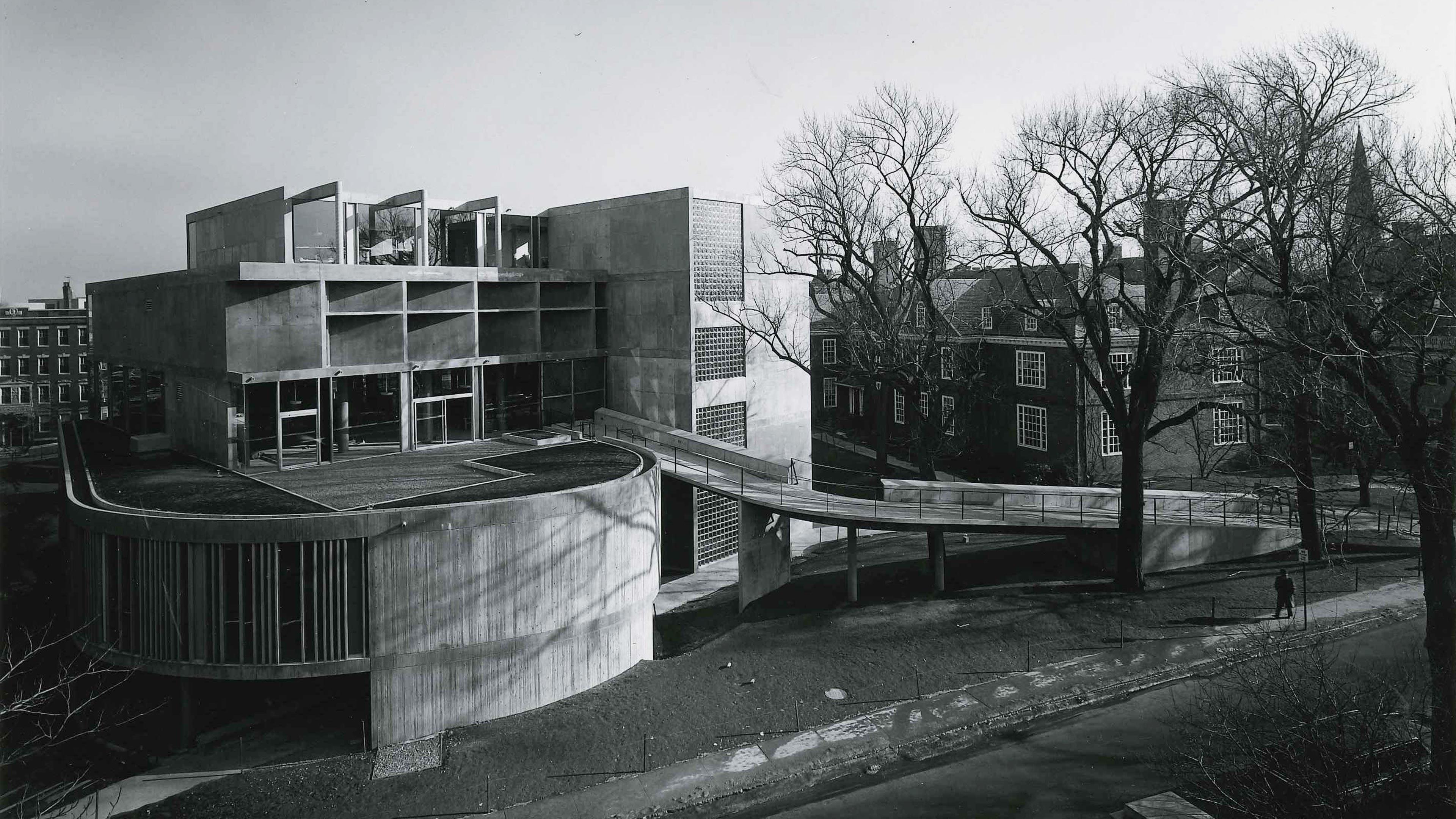 Carpenter Center For The Visual Arts Lemessurier