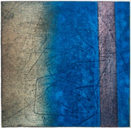 Collagraphy, paper, ink, 200 $