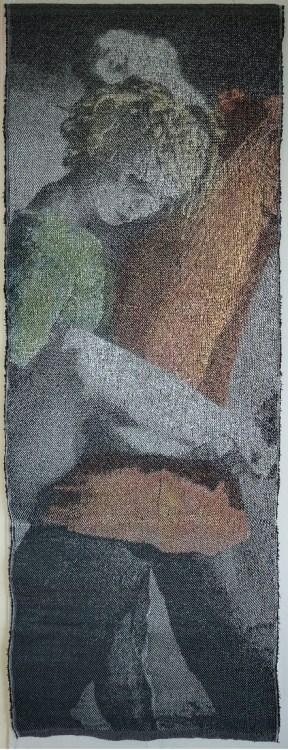 Incarnation, d'après une chorégraphie d'Hélène Blackburn, 2016, 178 x 73 cm