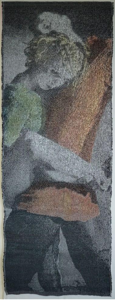 d'après une chorégraphie d'Hélène Blackburn, 2016, 178x73 cm