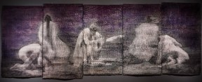 Rodin et Claudel #5 - La Pieta, 2016, 120 x 366 cm