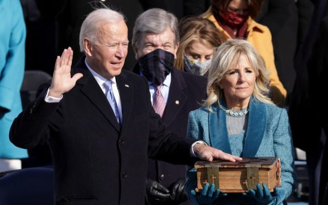 Investiture présidentielle américaine : « Je serai un président pour tous les Américains », promet Joe Biden