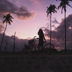 baler sunset