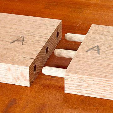 cara menyambung papan kayu