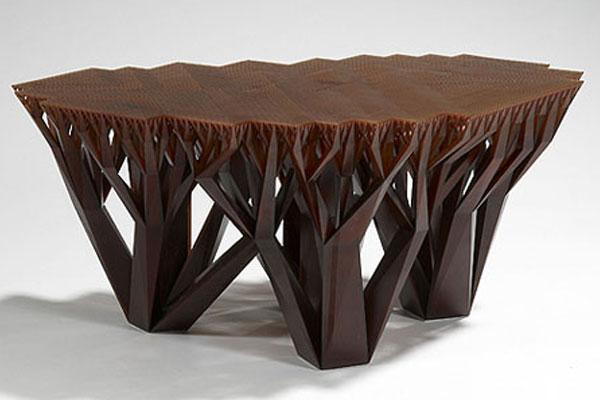 bentuk meja unik