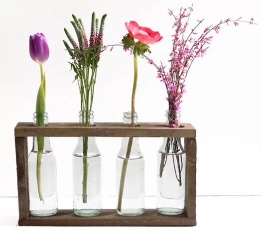 cara membuat kerajinan tempat vas bunga bagus