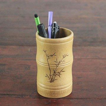 cara-membuat-tempat-pensil-dari-bambu