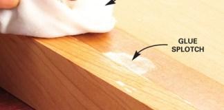 cara menghilangkan bekas lem kayu (2)