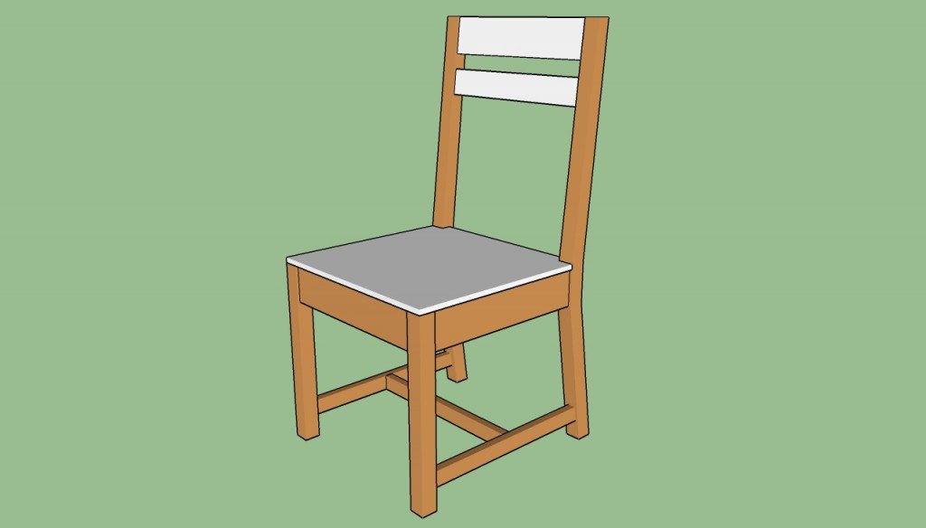 cara membuat kursi kayu sederhana