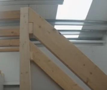 langkah 8 membuat tangga sederhana