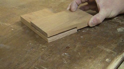 cara menyambung kayu biscuit joint