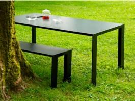 meja dan bangku hpl