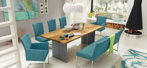 meja makan modern
