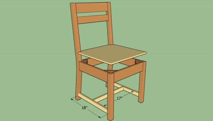 memasang dudukan kursi