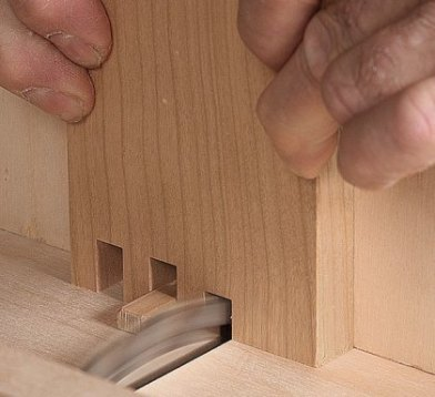 membuat finger joint