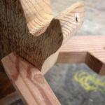 membuat kepala rusa dari kayu