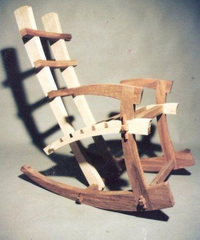 pembuatan furniture kursi dengan dowel