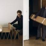 ranjang dari cardboard