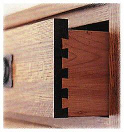 sambungan sudut rangka kayu ekor burung