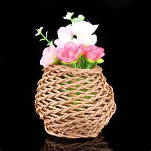 vas bunga rotan