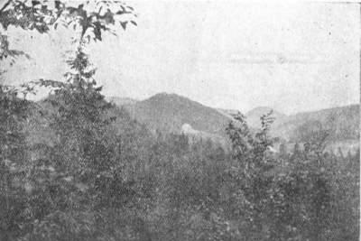 Лемківський краєвид з околиць Жеґестова Живця