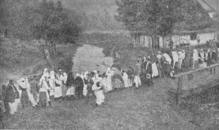 Празник перенесення Ризи Пр. Богородиці в Лопінці 15.VII.1934 р.