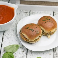 Eggplant Parm Sliders