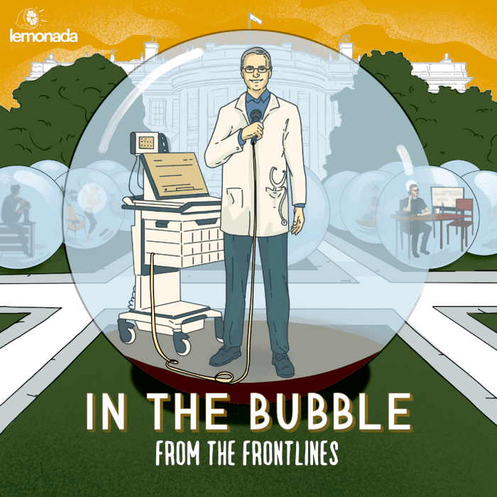 podcast thumbnail for 'In the Bubble with Andy Slavitt'
