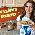 Cooking in Manhattan Walnut Pesto