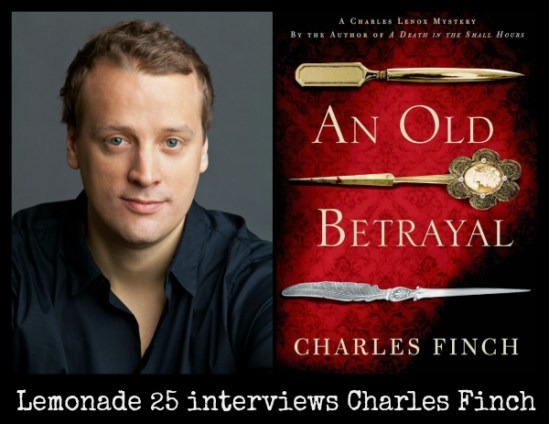 Charles Finch Interview