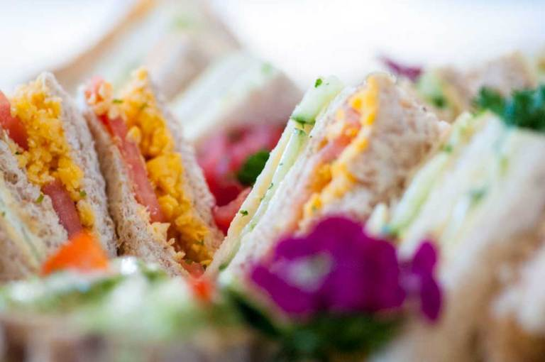 Noordhoek Cafe & Deli - High Tea sandwiches
