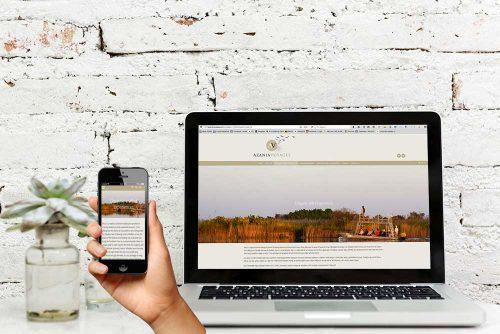 Azania Voyages website