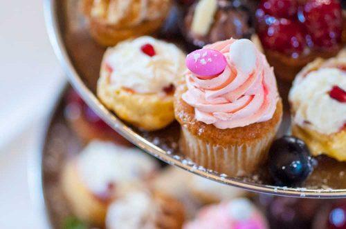 Noordhoek Cafe & Deli - pink cupcake
