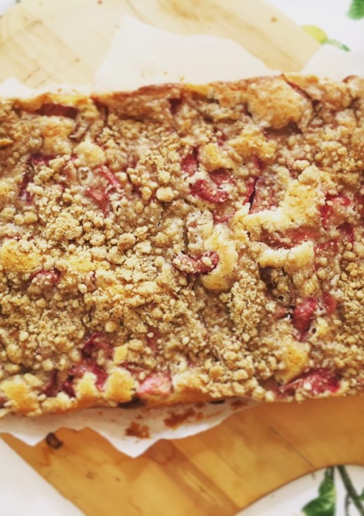 A Cake for Anytime, Anywhere: Rhubarb Anytime Cake