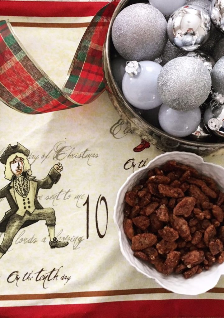 Sweet and Spicy Pecans for Christmas