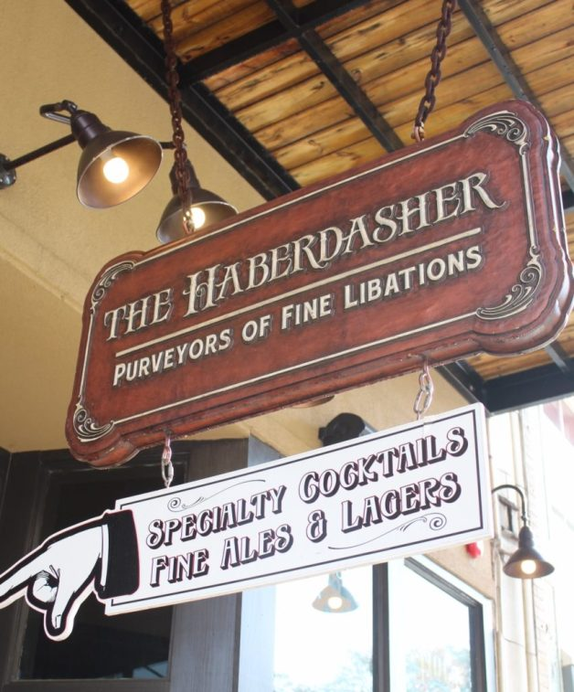 Haberdasher Sign