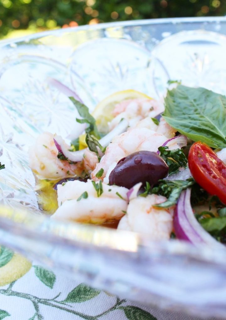 Easy Marinated Shrimp for A Potluck