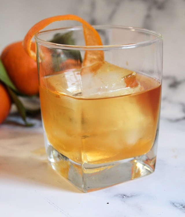 satsuma old fashioned cocktail