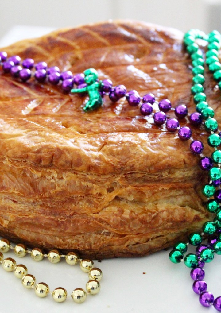 Galette de rois (French king cake) for Twelfth Night