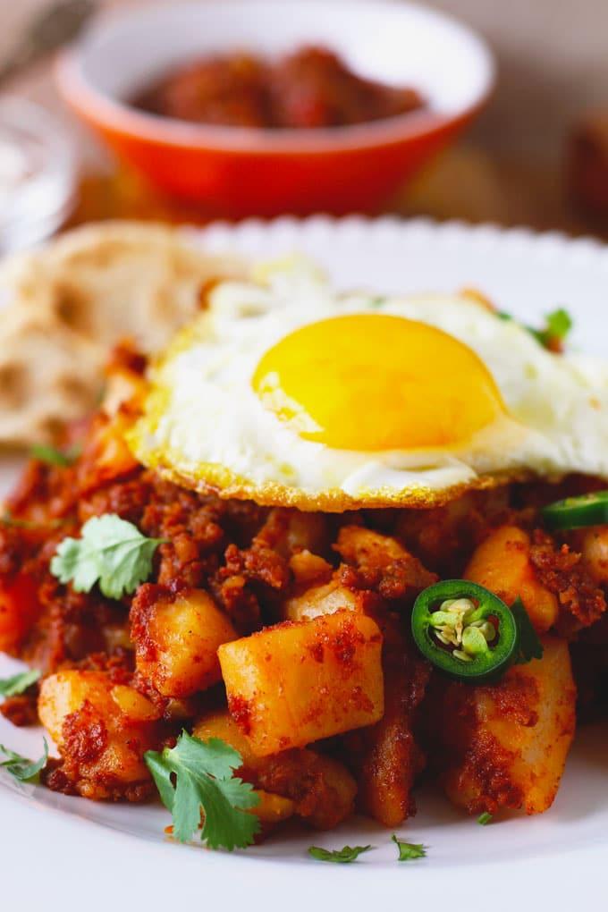 Potato and Chorizo Hash ~ One-Pan, Easy & Delicious!