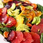 Citrus Salad with Basil Vinaigrette ~ Fresh, Light and Easy