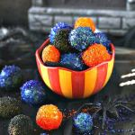 Halloween Sugared Prosecco Grapes
