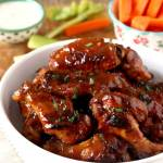 Honey BBQ Slow Cooker Chicken Wings