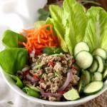 Thai Chicken Larb Salad (Larb Gai)