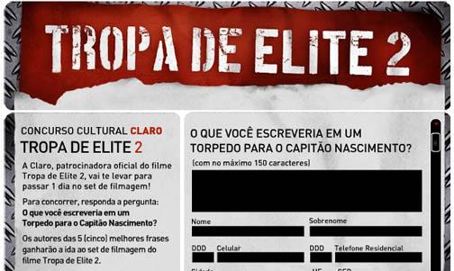 Claro - Tropa de Elite 2
