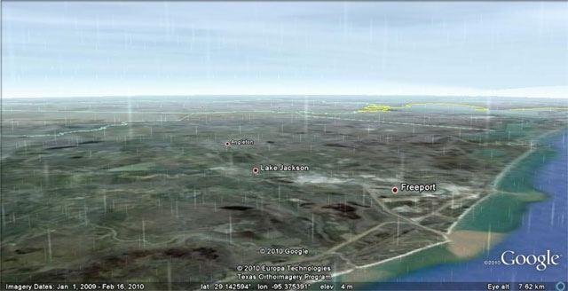 Google Earth Chuva em tempo real