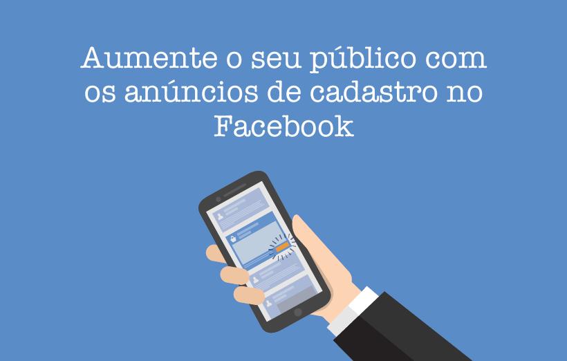 anúncios do Facebook
