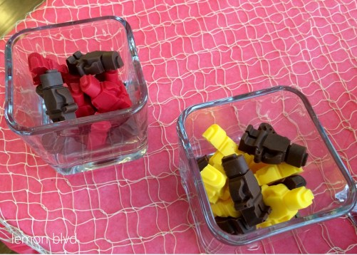 Lego Pirate Chocolates