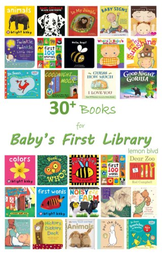 30 Books for Baby's First Library